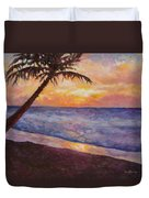 Tropical Interlude Duvet Cover by Eve  Wheeler
