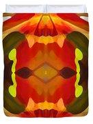 Tropical Leaf Pattern 17 Duvet Cover by Amy Vangsgard