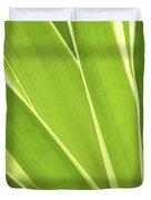 Tropical Leaves Duvet Cover by Elena Elisseeva