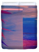 Tropical Sunrise by jrr Duvet Cover by First Star Art