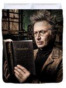 True Evil - Science Fiction - Horror Duvet Cover by Gary Heller