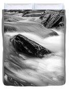 True's Brook Gorge Water Fall Duvet Cover by Edward Fielding