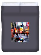 Tsquare Water Colors Duvet Cover by Diana Angstadt
