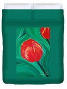 Tulip Diva By Jrr Duvet Cover by First Star Art