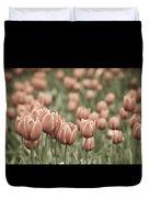 Tulip Field Duvet Cover by Frank Tschakert