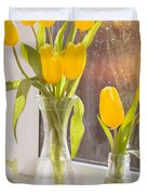 Tulips Duvet Cover by Amanda And Christopher Elwell