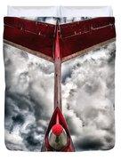 Tupolev Tu-154  Duvet Cover by Stelios Kleanthous