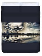 Turbulent Afternoon Duvet Cover by Nishanth Gopinathan