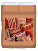 Turkish Cushions 02 Duvet Cover by Rick Piper Photography