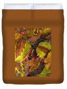 Turning Leaves 4 Duvet Cover by Stephen Anderson