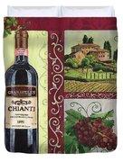 Tuscan Collage 1 Duvet Cover by Debbie DeWitt