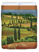 Tuscan Dream 1 Duvet Cover by Debbie DeWitt