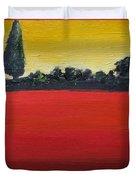 Tuscan Sunrise Duvet Cover by Venus