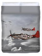 Tuskegee Airmen Duvet Cover by J Biggadike