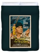 Twilight Of The Gods 1958 Duvet Cover by Mountain Dreams