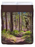 Twisp River Trail Duvet Cover by Omaste Witkowski