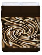 Twisted Chains Duvet Cover by Crystal Harman