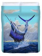 Twisted Off0013 Duvet Cover by Carey Chen