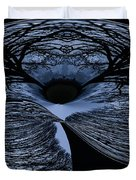 Twisted tree Duvet Cover by Jean Noren