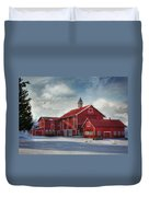 Two By Two Duvet Cover by Lori Deiter