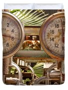 Two Farm Scales Duvet Cover by Kerri Mortenson