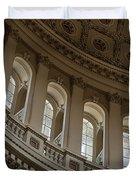 U S Capitol Dome Duvet Cover by Steve Gadomski