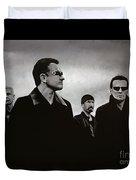 U2 Duvet Cover by Paul Meijering