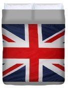 Uk Flag Duvet Cover by Les Cunliffe