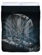Underworld Encounter Duvet Cover by John Stephens
