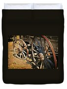Unequal Wheels Duvet Cover by Marty Koch