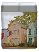 Unique Old Town Chicago Duvet Cover by Christine Till