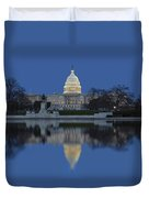 United States Capitol Building Duvet Cover by Susan Candelario