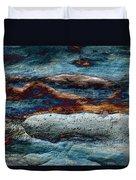 Untamed Sea 2 Duvet Cover by Carol Cavalaris