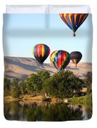 Up Up And Away Duvet Cover by Carol Groenen
