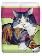 Ursula Duvet Cover by Pat Saunders-White