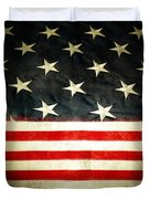 Usa Stars And Stripes Duvet Cover by Les Cunliffe