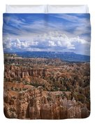 Usa, Utah, Bryce Canyon National Park Duvet Cover by Tips Images