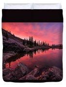 Utah's Cecret Duvet Cover by Chad Dutson