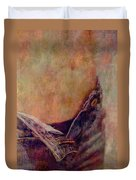 V Jeans Duvet Cover by Loriental Photography