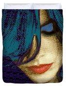 Vain 2 Duvet Cover by Tony Rubino