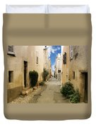 Valbonne - History And Charm  Duvet Cover by Christine Till