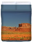 Valley Of The Gods - See What The Gods See Duvet Cover by Christine Till