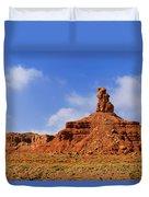 Valley Of The Gods Utah Duvet Cover by Christine Till