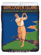 Vancouver Island Duvet Cover by Gary Grayson