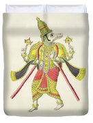 Varaha, Engraved By De Marlet Duvet Cover by French School