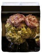 Vase Of Flowers Duvet Cover by Madeline Ellis