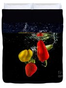 Vegetable Soup For The Soul Duvet Cover by Rene Triay Photography