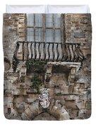 Venetian balcony 02 Elena Yakubovich Duvet Cover by Elena Yakubovich