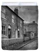 Victorian Street Duvet Cover by Adrian Evans