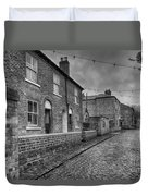 Victorian Street Duvet Cover by Adrian Evans